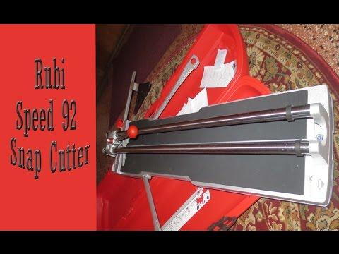 Rubi speed 92 Tile Snap Cutter