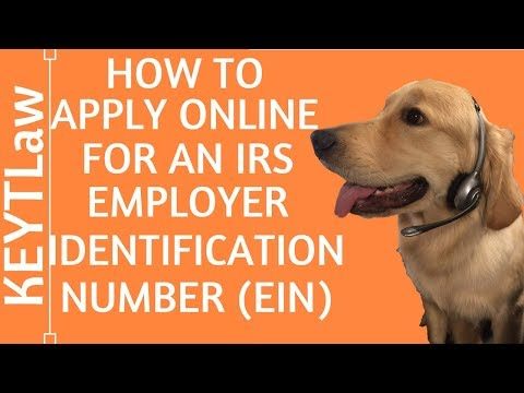 How to Apply Online for an Employer Identification Number (EIN) (2018)