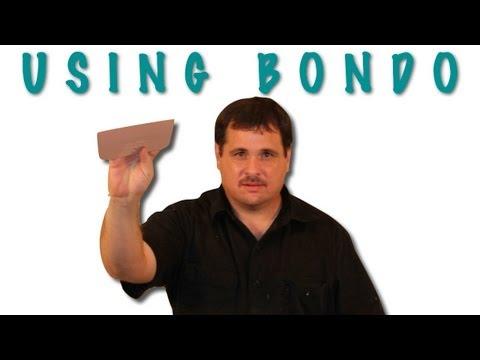 Tips For Applying and Block Sanding Bondo