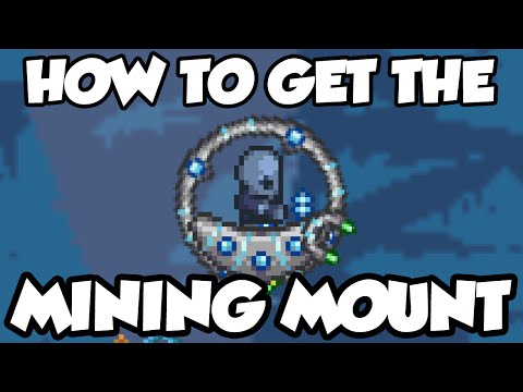 Terraria 1.3 - How To Get The Drill Mount! Drill Containment Unit Guide Terraria 1.3