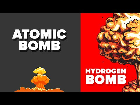 Atomic Bomb vs Hydrogen Bomb - How Do They Compare?
