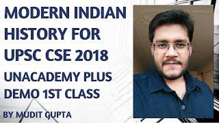 Unacademy Plus Demo 1st Class - Mudit Gupta