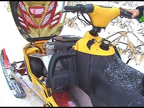 Snowmobile Trouble with the 2002 Ski-doo MXZ 700