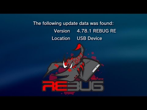 Ep.2 - PS3 Jailbreak: How To Update 3.55 OFW/CFW To REBUG 4.78.1 REX