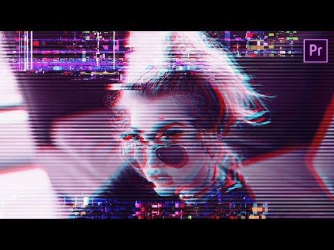 Make your Footage GLITCH EFFECT - Premiere Pro - In Hindi