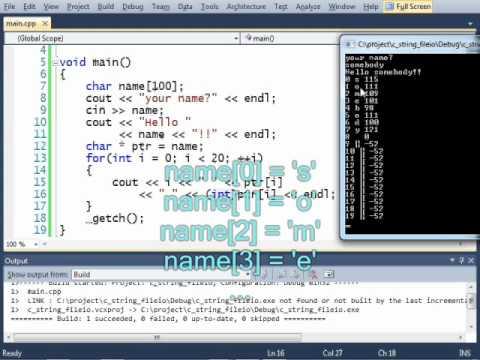 Arrays, C-Strings, File I/O - Part 2