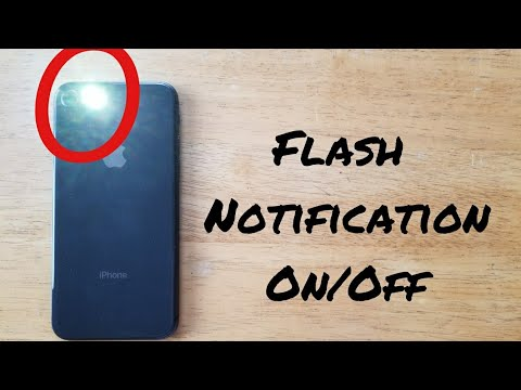How to turn on flash for alerts IPhone X (10), 8 /8 plus, 7 / 7 Plus, 6S / 6S Plus, iPhone SE, 6/6+