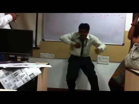 TCS april 2012- abhishek shaking a leg