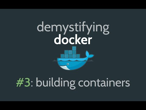 Docker Container Tutorial - How to build a Docker Container & Image
