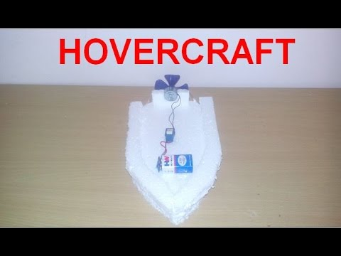 How to Make a mini Hovercraft