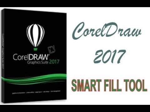 COREL DRAW 2017 USING SMART FILL TOOL HINDI URDU PART 40