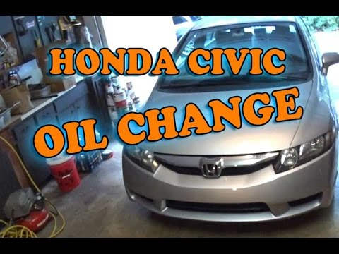 Honda Civic Oil Change