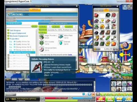 Maple Story GMS How to make Infinite - Star