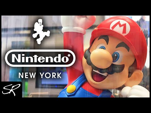 EPIC Nintendo New York Store Tour 2018 | The Place to Play! (4K)