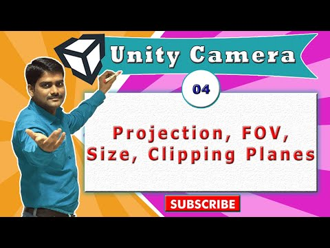 Unity Camera Essentials - 04 - Projection, FOV, Size, Clipping Planes
