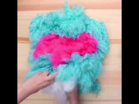 DIY Furry Pillows!