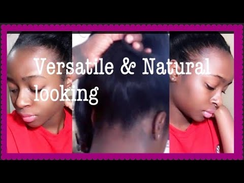 Versatile and Natural Looking Sew In You Can Put In A High Ponytail !?!