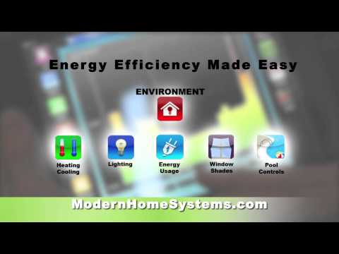 Energy savings with home automation
