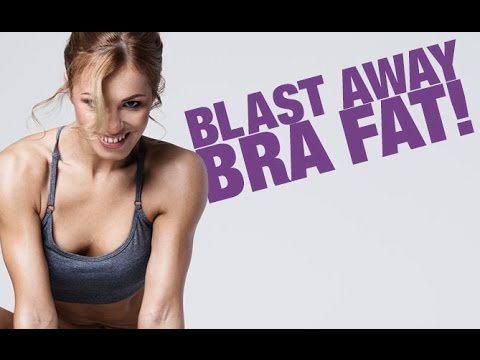 How To Lose Chest Fat for Women (BLAST AWAY BRA FAT!!)