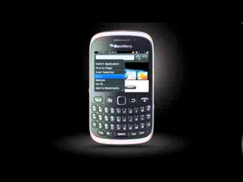 HOW TO:  Browse the Web on BlackBerry Curve 9320