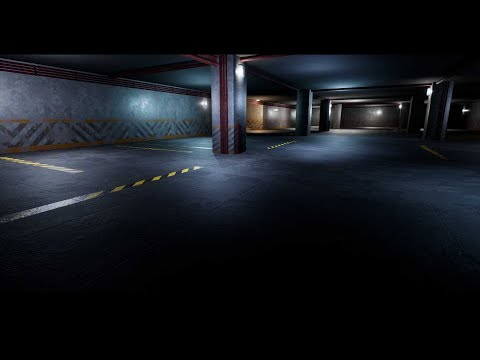 Making of Parking Lot 3ds max Unreal engine tutorial part - 1