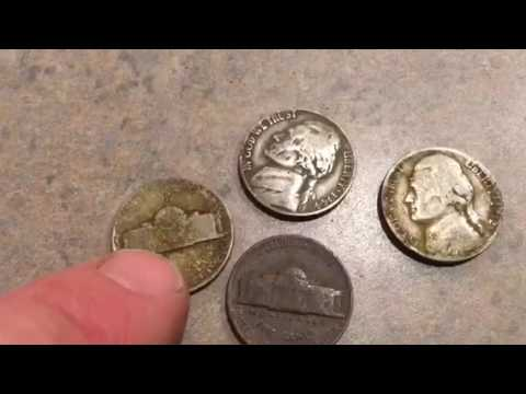 War nickels. This will show if they are Silver or not?