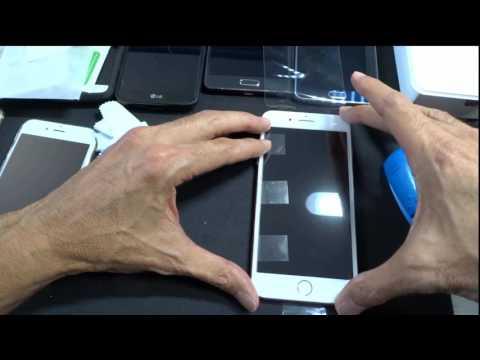 iPhone 7 Plus Screen Protector Application. [HINGE METHOD]--EASIEST Technique!!