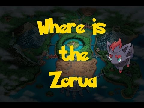 Where Is: Zorua (Gift Pokemon) (Pokemon Black 2/White 2)