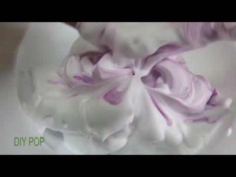 ASMR Shaving Foam Mixing! DIY POP