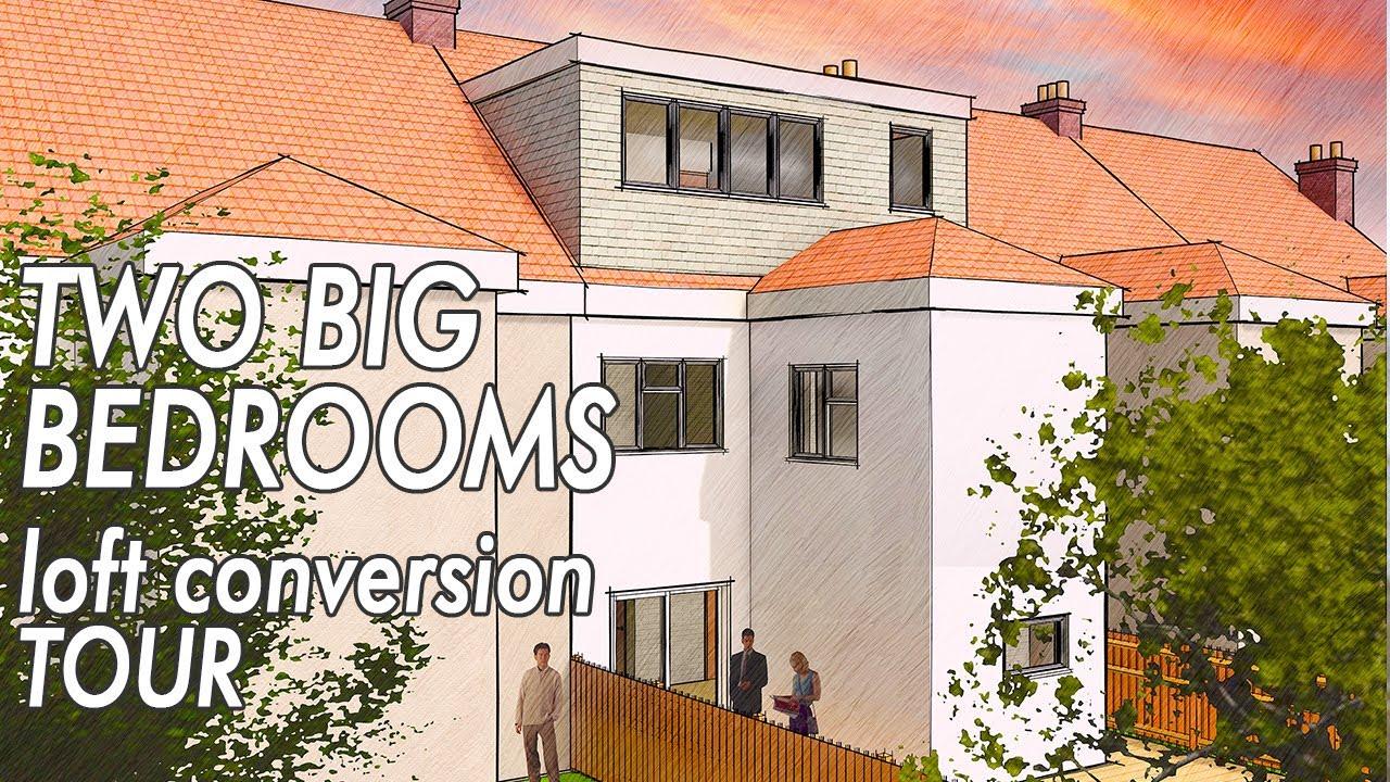 Loft Conversions UK. Tour of 2 BEDROOM LOFT CONVERSION.