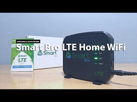 Evoluzn's Smart Bro LTE Home WiFi Unboxing & Review