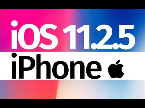 How to Update to iOS 11.2.5 - iPhone SE iPhone 7 iPhone 6S iPhone 8 iPhone X iPhone 5S