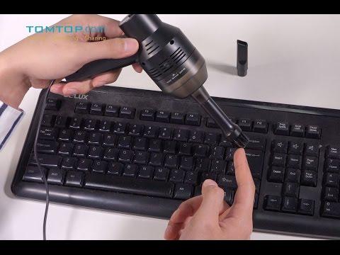 Portable Mini USB Vacuum Cleaner for Pet Car Laptop Keyboard Camera Phone