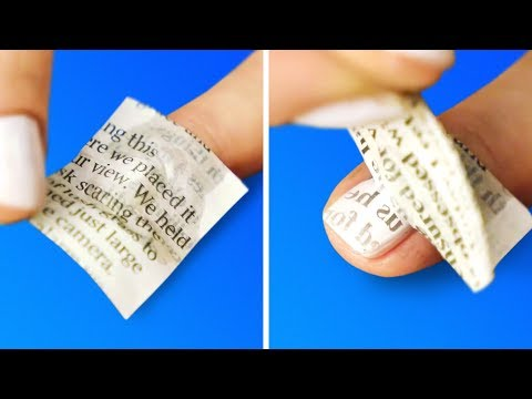 17 PRACTICAL NEWSPAPER HACKS AND CRAFTS