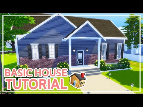 The Sims 4 Tutorial - How to Build a BASIC House!