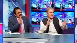 Rana Sanaullah Vs Shah Mehmood Qureshi - Kal Tak 17 October 2016