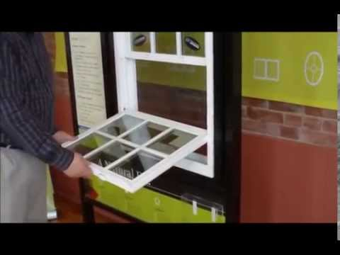 How to tilt in an easy to clean vinyl replacement window what cleaner to use