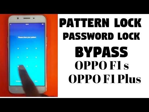 Oppo F1 S 📲Oppo F1Plus 📱Pattern lock ByPass 📲 Hard Reset 💻 new way