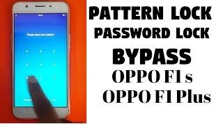 OPPO F1S A1601 PATTERN LOCK REMOVE 32BG & 64GB Videos & Books