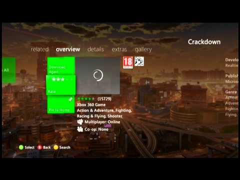 Xbox Live Tutorial: How to download Crackdown For Free!!