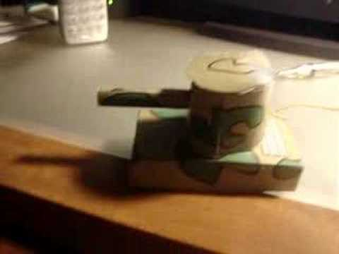 RC Paper tank!