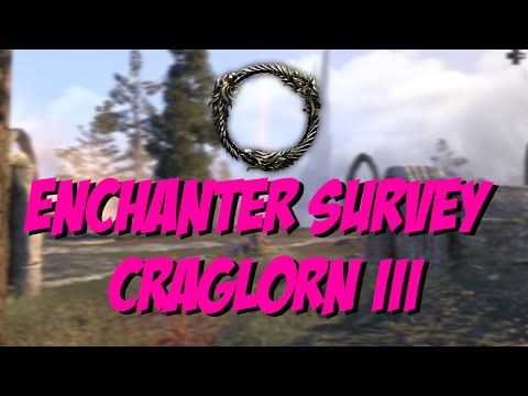 [ESO] Elder Scrolls Online: Enchanter Survey Craglorn III Location