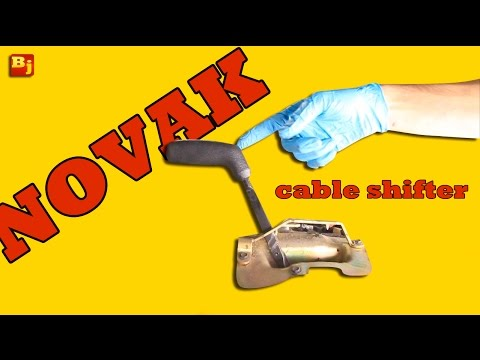 Shift Smooth with Novak's 4wd Cable Shifter