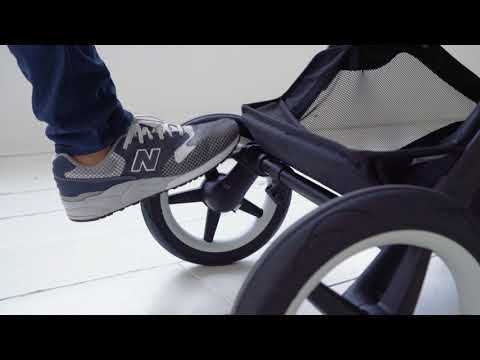 How to use the footbrake | Bugaboo Fox