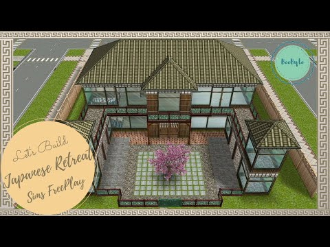 Let's Build Japanese Retreat | Sims FreePlay