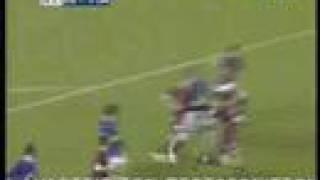 Everton - AEL Larissa highlights( Uefa cup  25-10-2007)