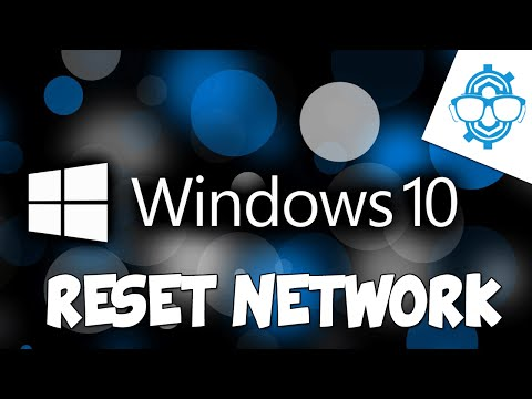 Reset Entire Network in Windows 10 (Troubleshooting Tip)
