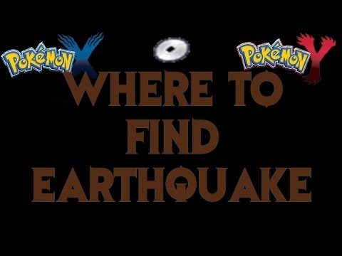 Where to find Earthquake! (TM) - Pokemon X and Y Guide!