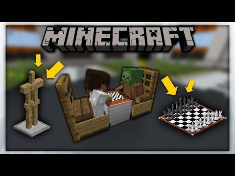 MCPE 1.2 || ChessBoard Using Armor Stand / Bàn cờ sử dụng armor stand || Minecraft Pe