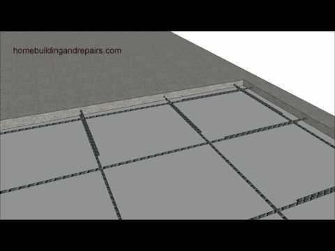 Adding or Filling Concrete over Existing Garage Slab - Home Remodeling